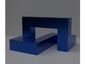 Cubic Moebius & Trefoil