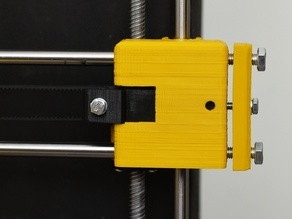 Prusa i3 x-belt tensionner upgrade