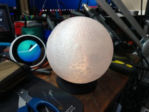 Moon Lamp - Alexa Controlled Particle Photon