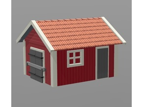 Shed H0 / HO scale