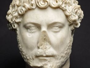 Portrait of Emperor Hadrian, 2nd century A.D.