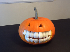 Realistic Pumpkin Teeth