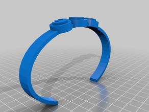 My Customized rebel bracelet