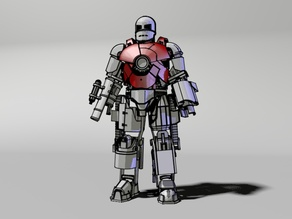 5.Chests of Iron man Mark1