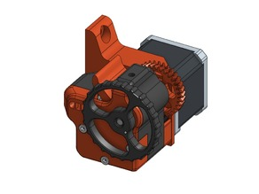 Ditan - Dual Drive Geared Spring Loaded Extruder
