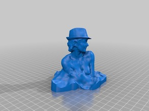 Pretty Woman Bust with hat