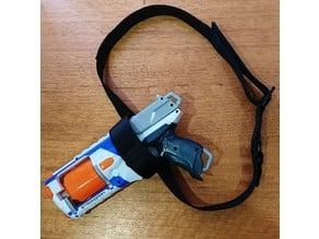 NERF Sidearm Holster (for Strongarm, Distruptor or Maverick)