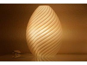 Finned lamp for E27 LED / Philips Hue