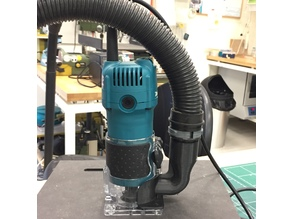 Dust suction adapter for Makita Trimmer