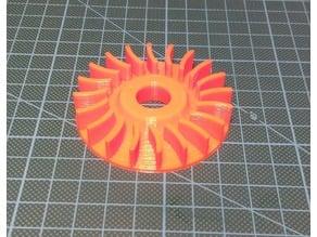 Fan Wheel Drilling Machine