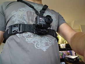 rotating mount chest rig remix