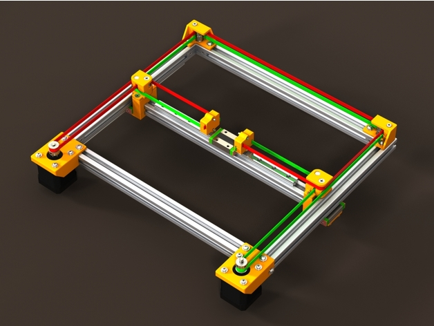 CoreXY Frame (v.2.0) by Lehaiver - Thingiverse