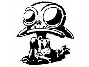 Goblin stencil