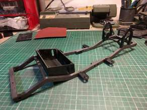 Jeep YJ 1/10 scale chassis