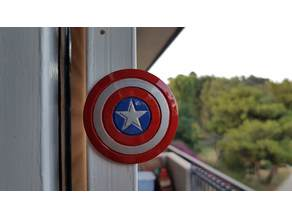 Captain America Shield magnet