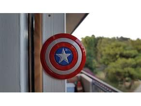 Captain America Shield magnet