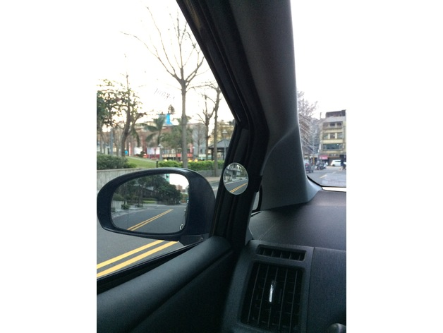 Toyota Prius V Alpha Blind Spot Mirror Stand By Kaiyao Thingiverse