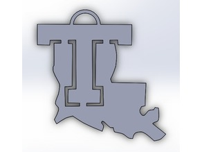 LaTech Ornament