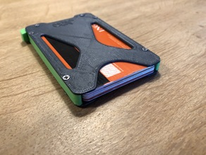 JDO Wallet - Minimalist Wallet / Card Holder (7 cards)