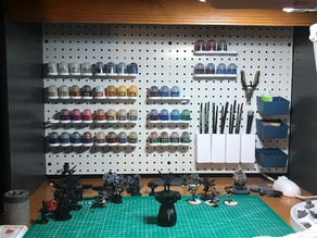 Citadel Paint Pegboard Holder