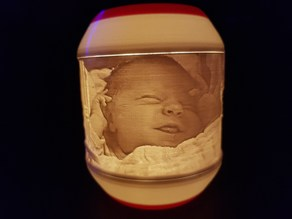 Lithophane IKEA tea light shades