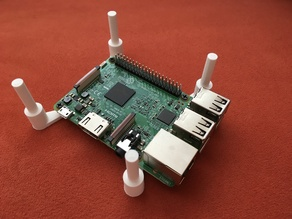Raspberry Pi 2 and 3, Stacking System (with Screws)