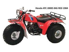 Honda ATC 200ES BIG RED Sub transmission selector cap