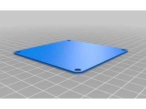 80mm Solid PC Fan Blanking Plate