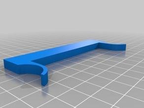 FlashForge/PowerSpec glass-bed z-axis shim