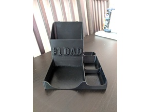 #1 DAD desk organizer