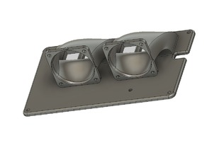 Lerdge K mount on V-slot 20xx & cooling top cover