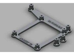 3D FREUNDE Mosfet V2 dual/single Halterung Anet A8/A6