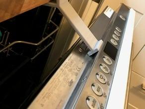 Dishwasher Door open
