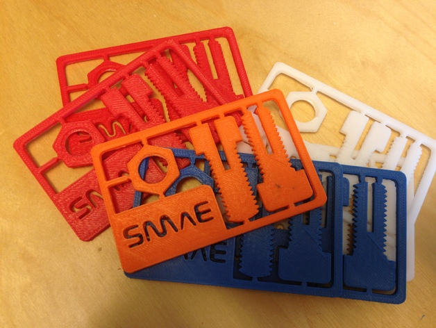 Snap out business card by u1w thingiverse thingiview colourmoves
