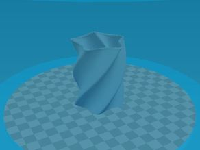 XYZ Da Vinci Star Vase BQ Ciclop