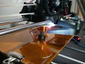 Cooling Fan Bracket and Shroud for Ecksbot 3D Printer