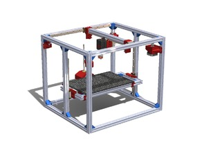 Linear Guide Core XY 3D-printer