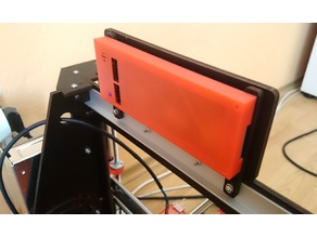 LCD Back Cover for CTC Prusa i3 Pro B (Fixed)