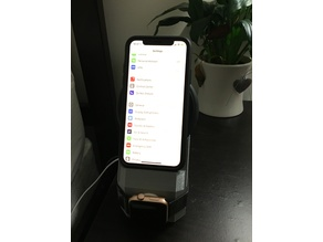 iPhone X and Apple Watch Wireless Charging Stand
