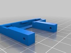 SJ4000 case Latch/clip