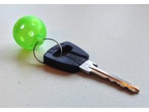 Customizable floorball key fob