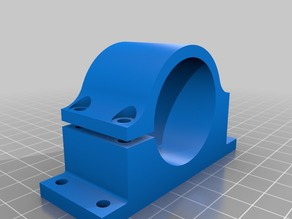 37 mm milling motor mount for homemade cnc or 3d printer