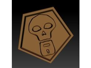 ashe overwatch skull cosplay