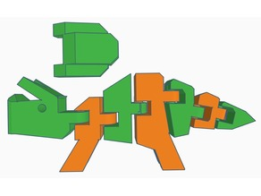 Flexi Triceratops Remix