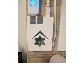 Raspberry Pi 3 Case - No Screws - Homeseer Logo