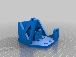 Anet A8 E3D V6 Direct Mount with 8mm Prusa PINDA mount