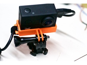 F60mount - Action Cam Mount for the FuriBee F60 4K Camera