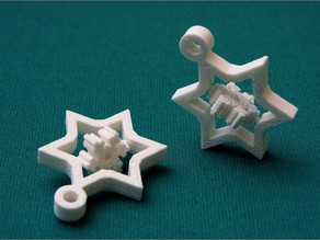 Optimized (Small) Gyroscopic Snowflake