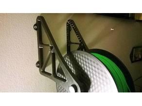 Wall filament spool holder