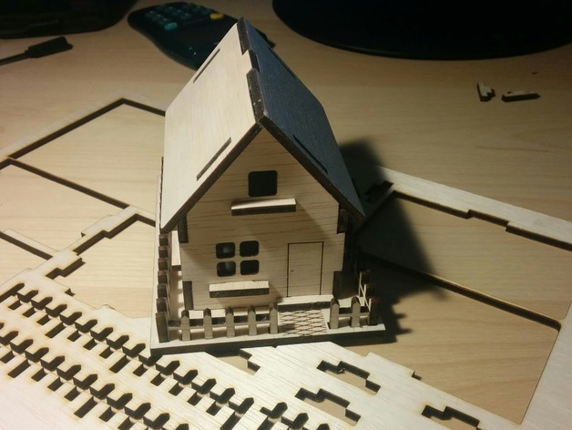 Make scale model house